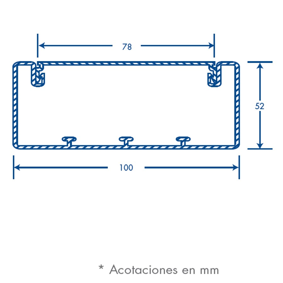 Tek 100 Cable Duct Pvc Wiring Medidas